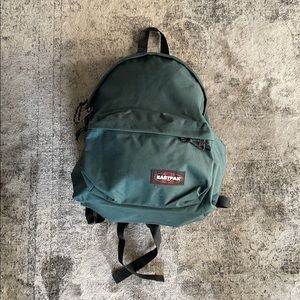 Forest Green Eastpak USA Backpack